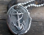Anchor Wax Seal Pendant