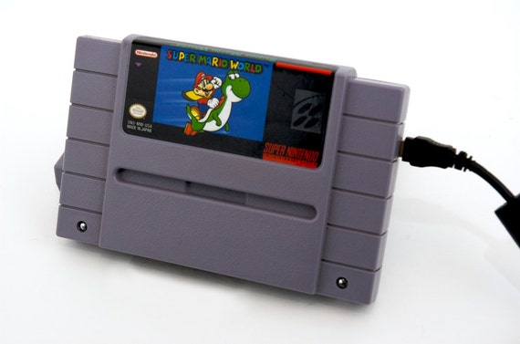 RESERVED for Taylor0496 - SNES Hard Drive - Super Mario World - 500gb