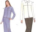 Vogue Pattern 9574 Jacket Skirt Pants sz 14 16 18 1996