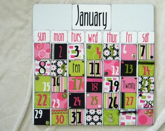 Decorative Yearlay Calendar
