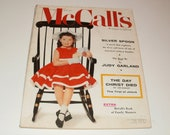 Vintage McCalls Magazine April 1957 - Judy Garland - Betsy McCall Paper Doll - Paper Ephemera Collectible