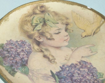 Vintage Maude Humphey Plate