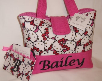 Personalize Hello Kitty Little Girls Handbag