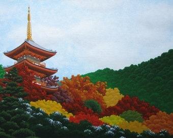 Autumn Colors   18x13 in./45.5x33.5 cm.   Acrylic