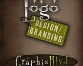 Web Logo design/branding - personalized - custom - OOAK