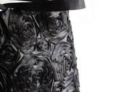 RESERVED for LIZ - Black Roses Purse Shoulder Bag Fall Fashion