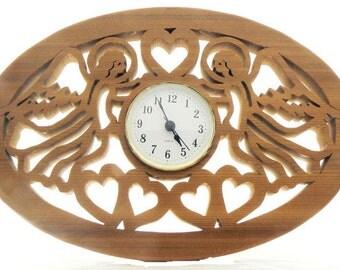 Angel Love Wall Clock