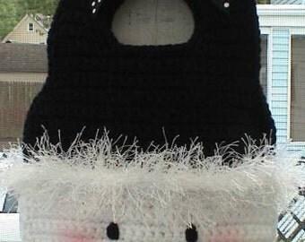 Girl Easy CROCHET PATTERN Beginner Snowman Purse Snowy Purse