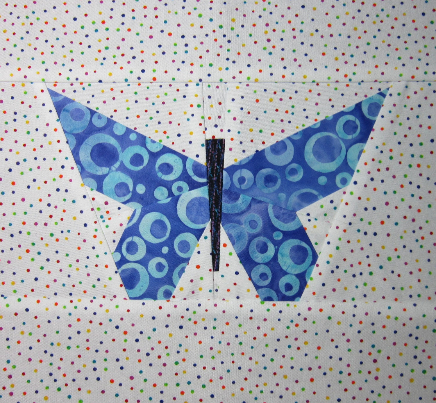 Pieced Butterfly Quilting Pattern Tutorial