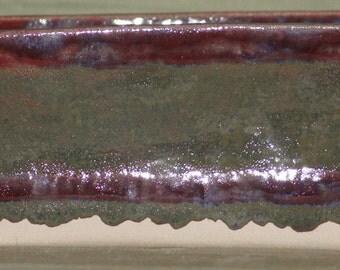 Red n Green Large Stoneware Loaf Pan