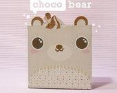 Choco Bear Giftbox Printable PDF