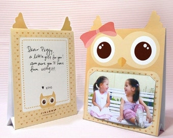 Brown Owl Photoframe Printable PDF