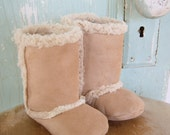 PDF Baby Boots Pattern - Lambs Wool - size 3 months to 2T
