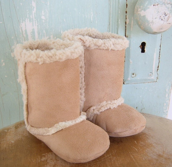 Pdf Baby Boots Pattern Lambs Wool Size 3 Months To 2t