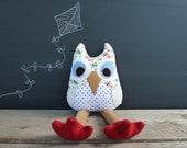 Owl Plushie-Aubrey