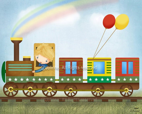 Train Pictures For Kids Room