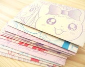 Japanese Manga Envelopes (Set of 10)