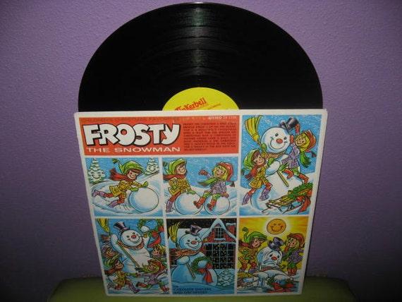 Vinyl Record Album Frosty The Snowman Lp 70s By