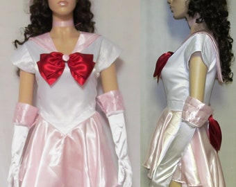 Sailor Chibi Mini Moon Scout Costume Cosplay Adult Women's Custom Fit Size 4 6 8 10 12 14