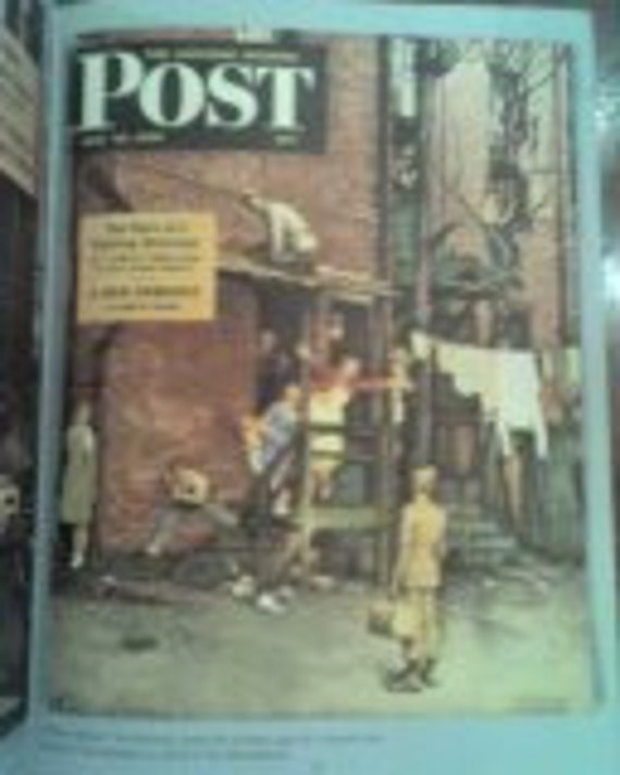 Saturday Evening Post book 1954