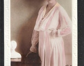 Vintage RP RPPC Real Photo Postcard of the British Edwardian Stage Star Actress Miss Gladys Cooper