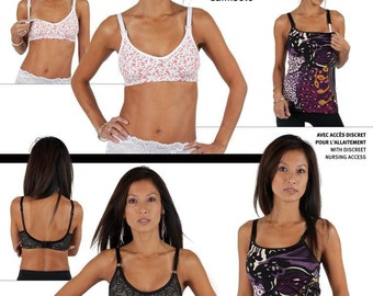 Jalie Bra and Camisole and Nursing 17 Sizes Sewing Pattern  3131