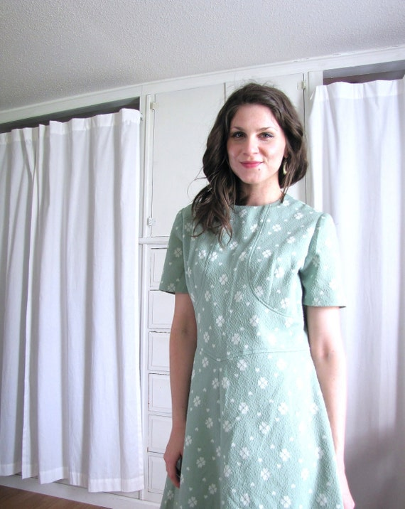 Four Leaf Clover Dress / Mint Dress / St. Patricks Day Dress