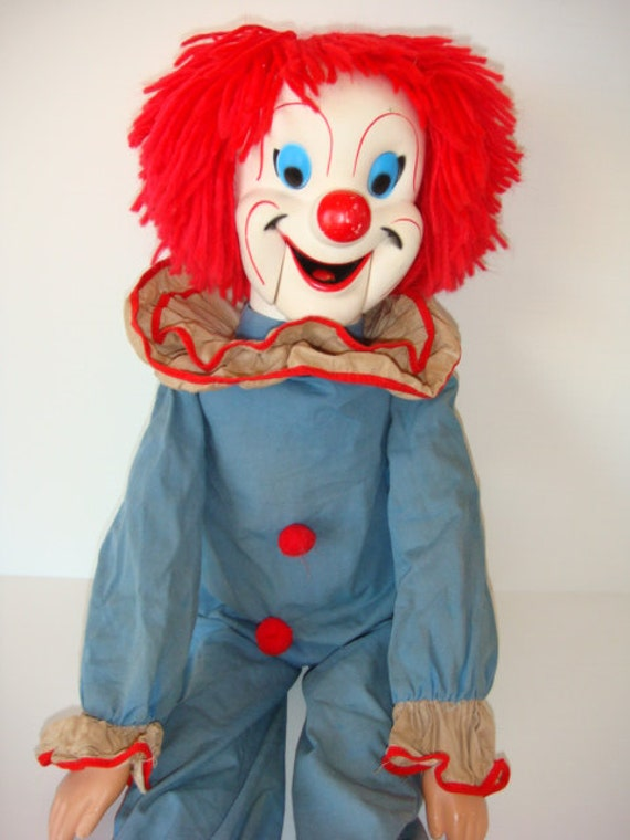 Bozo The Clown Ventriloquist Doll By Larry Harmon