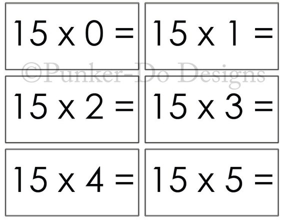 Luscious image inside free printable multiplication flash cards pdf