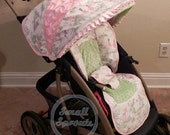 Custom Boutique Nursery Rhyme Stroller Cover