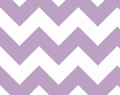 Chevron in Lavender LARGE by Riley Blake Designs 1/2 yard total