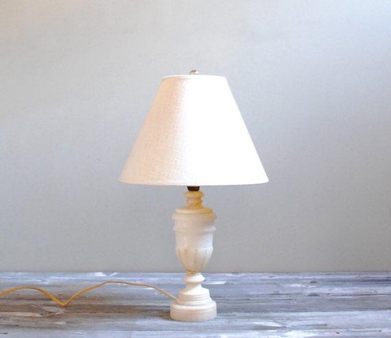 Vintage Marble Table Lamp