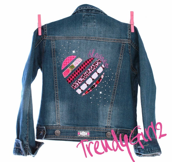 TrendyGirlz Upcycle Design Your Own Custom Personalized Denim Jean Jacket