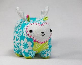 Mini Deer - Reindeer Plush Friend - Ready to Ship