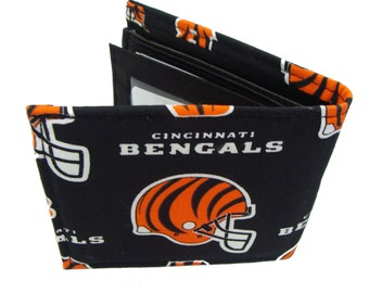NFL Cincinnati BENGALS  men's Wallet, New
