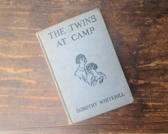 Antique Twins at Camp Book