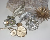 Vintage Collection of Pins and Brooches