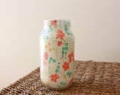 Glass Fabric Covered Jar