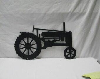 Tractor 039  Metal Farm Wall Yard Art Silhouette