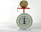 RESERVED // Vintage Metal Scale / Industrial Decor
