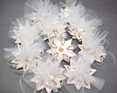 RESERVED 16 Personalized custom baby shower favor, wedding shower favors, hand written wheel thrown ceramic (H) bonboniere