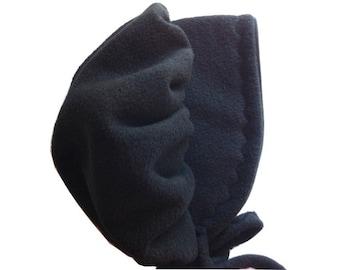 Black Fleece Bonnet sizes newborn through 3T