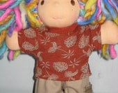Pants set to fit the Waldorf 6 to 8 inch style dolls