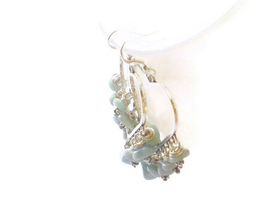 Larimar Chandeliers Larimar earrings pastel blue colors Mothers day gifts