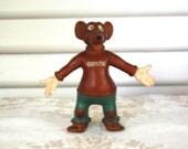 Reserved for Lynne- Vintage Baylor Bear Figurine
