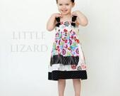 Apron Knot Dress Pattern, Girls Dress Pattern, Matilda Jane clothing pattern, Easy Dress SEWING PATTERN, Persnickety Sewing Pattern, 6m-12