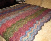 Painted Dessert Crochet Blanket