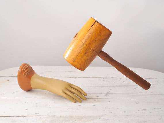 OUCH - Vintage Wooden Mallet