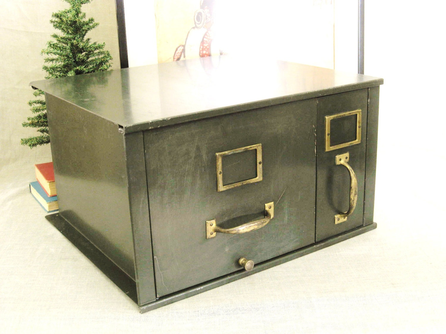 Awesome SalvoWEB  Vintage Metal Filing Cabinets