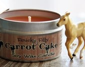 Carrot Cake Soy Candle for Horse Lovers